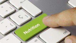 Clavier nutrition avec doigt