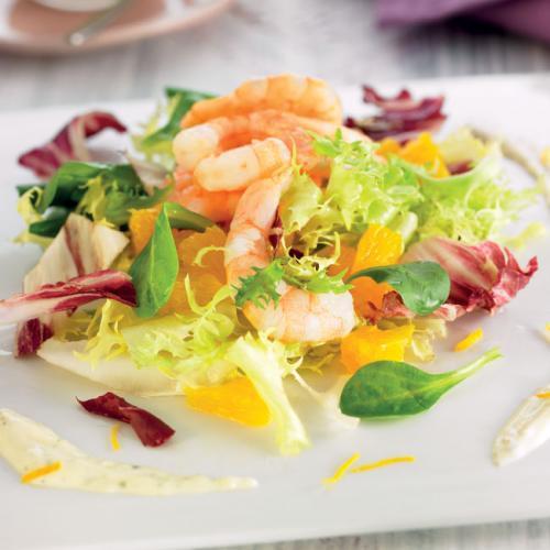 Ensalada con langostinos y naranja blog dieta saludable - Ensalada de langostinos ...