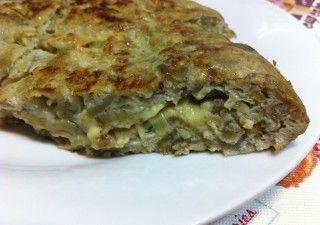 Blog dieta saludable aprende a bajar de peso comiendo sano - Tortilla de calabacin y cebolla ...