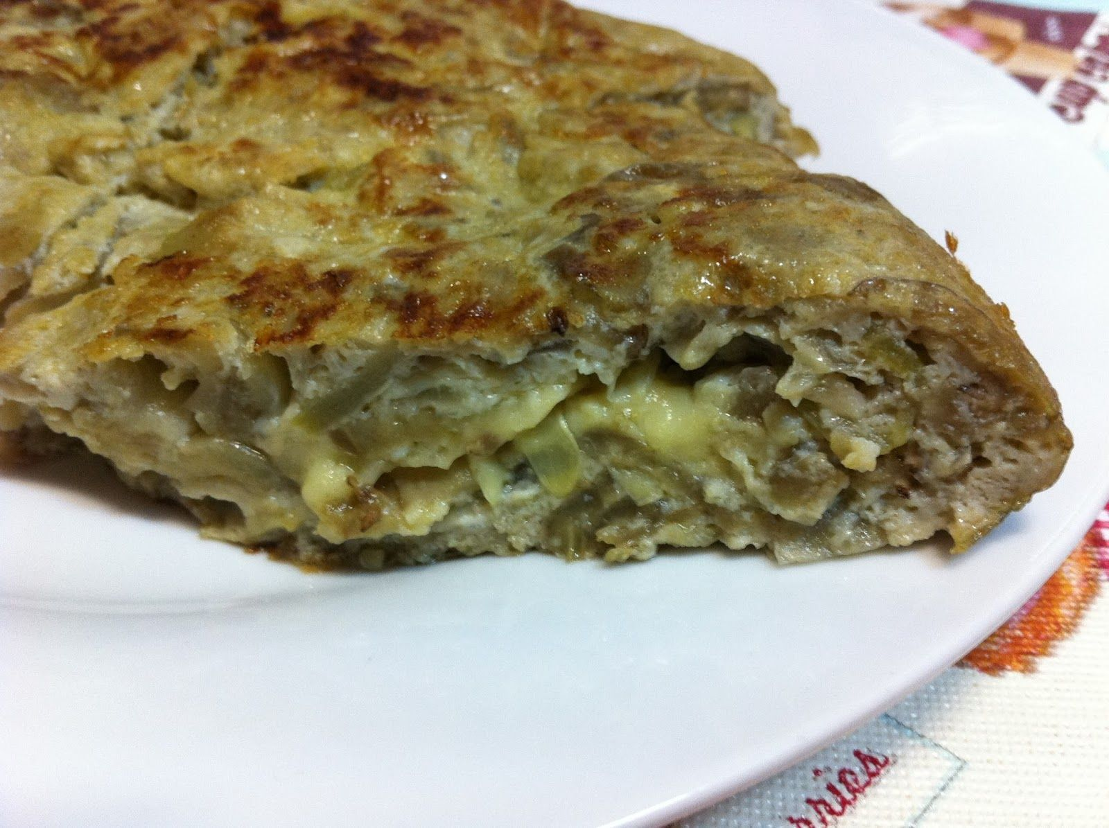 Tortilla de berenjena calabac n y cebolla blog dieta - Tortilla de calabacin y cebolla ...